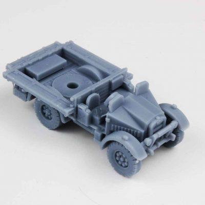dlp-3d-printed-grey-military-car-model